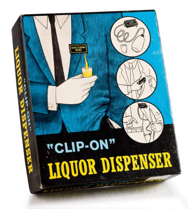 product clip on drink dispenser