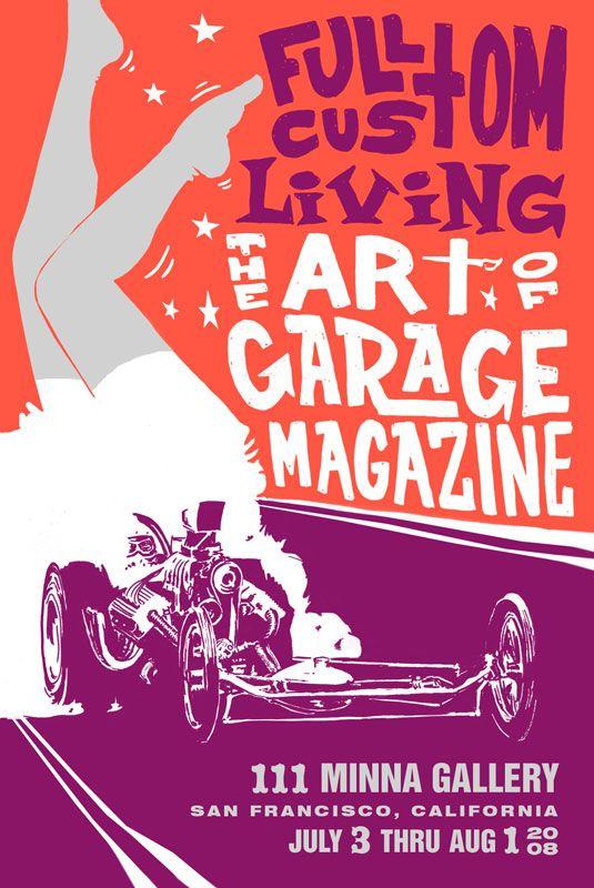 Announcement The Art of Garage Magazine