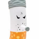Vinyl toy Smokey designed by Frank Kozik