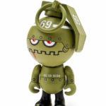 Vinyl toy Bud Trooper designed by Frank Kozik