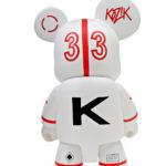 Vinyl toy Nervous Cosmonaut designed by Frank Kozik