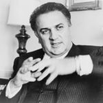 Federico Fellini, died on Halloween 1993