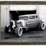 Polaroid of the Coupe de Cab. San Jose. CA