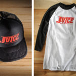 product swag courtesy of Juice Magazine