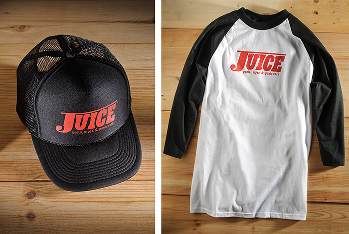 Juice Magazine apparel