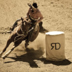 Barrel Racer Driscoll Ranch Rodeo. La Honda, CA