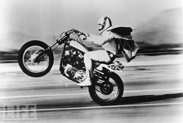 Evel Knievel, from the Life Magazine archives.