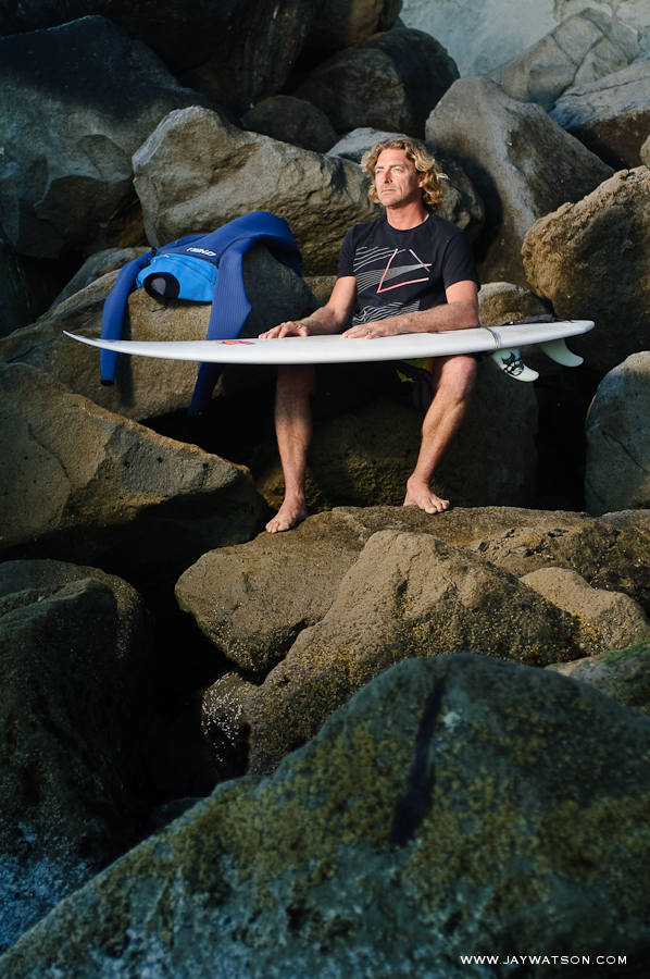 John Hunter, product designer • O'Neill Wetsuits