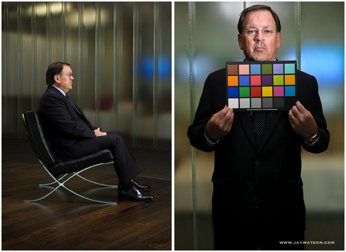 Editorial Portrait Gary Elliott. Cupertino, CA | ANA Magazine