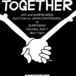 Art Show Benefit for Japan | Surfindian. San Diego, CA