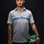 Portrait of skater Roger Mihalko