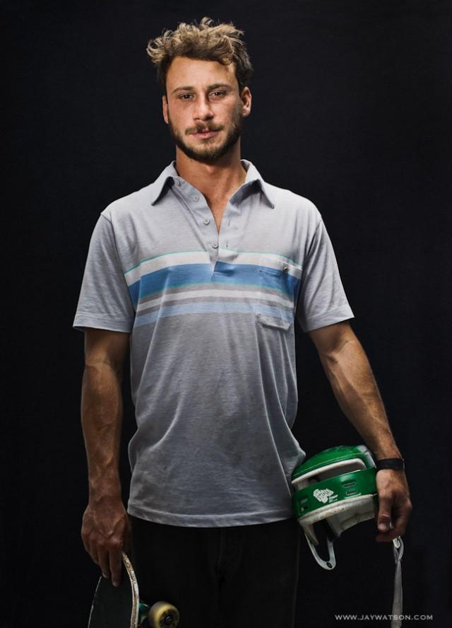 Skater Roger Mihalko