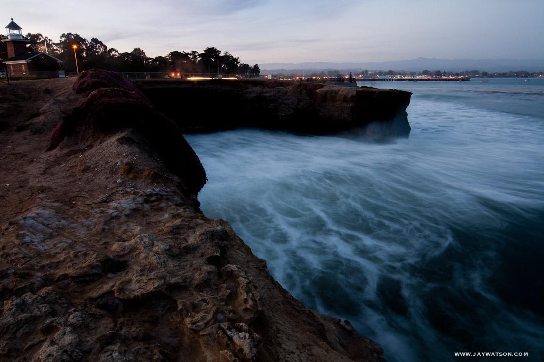 Long exposure at Westcliff. Santa Cruz, CA