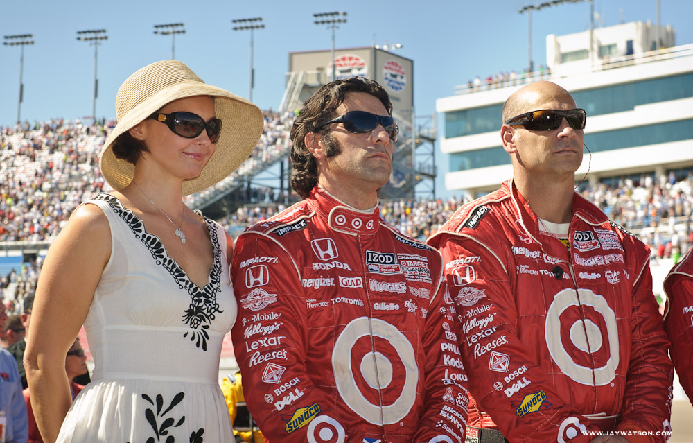 Ashley Judd and racecar driver Dario Franchitti