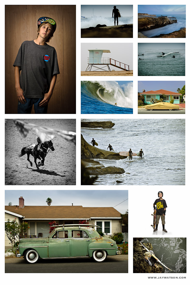 California photography. Each image is printed 16X24.