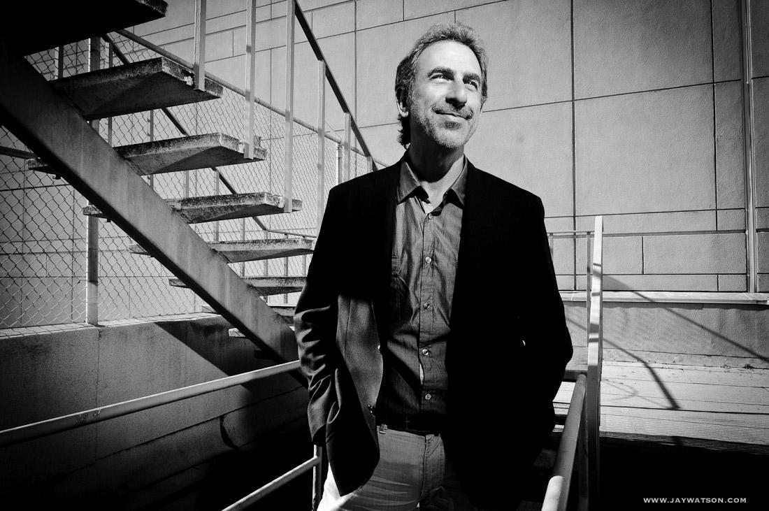 Editorial portrait of Dr. Jay Lalezari. San Francisco, CA
