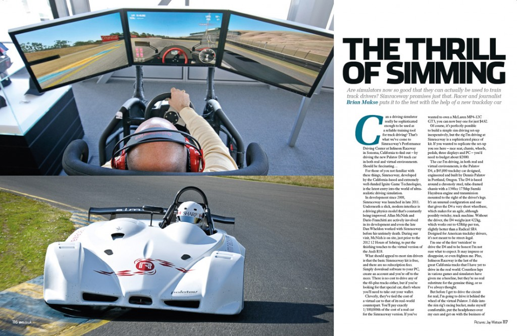 Tearsheet from Evo Magazine, a British performance car publication.