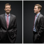 Andrew Spokes of Farallon Capital, an editorial portrait for a NY investment magazine.