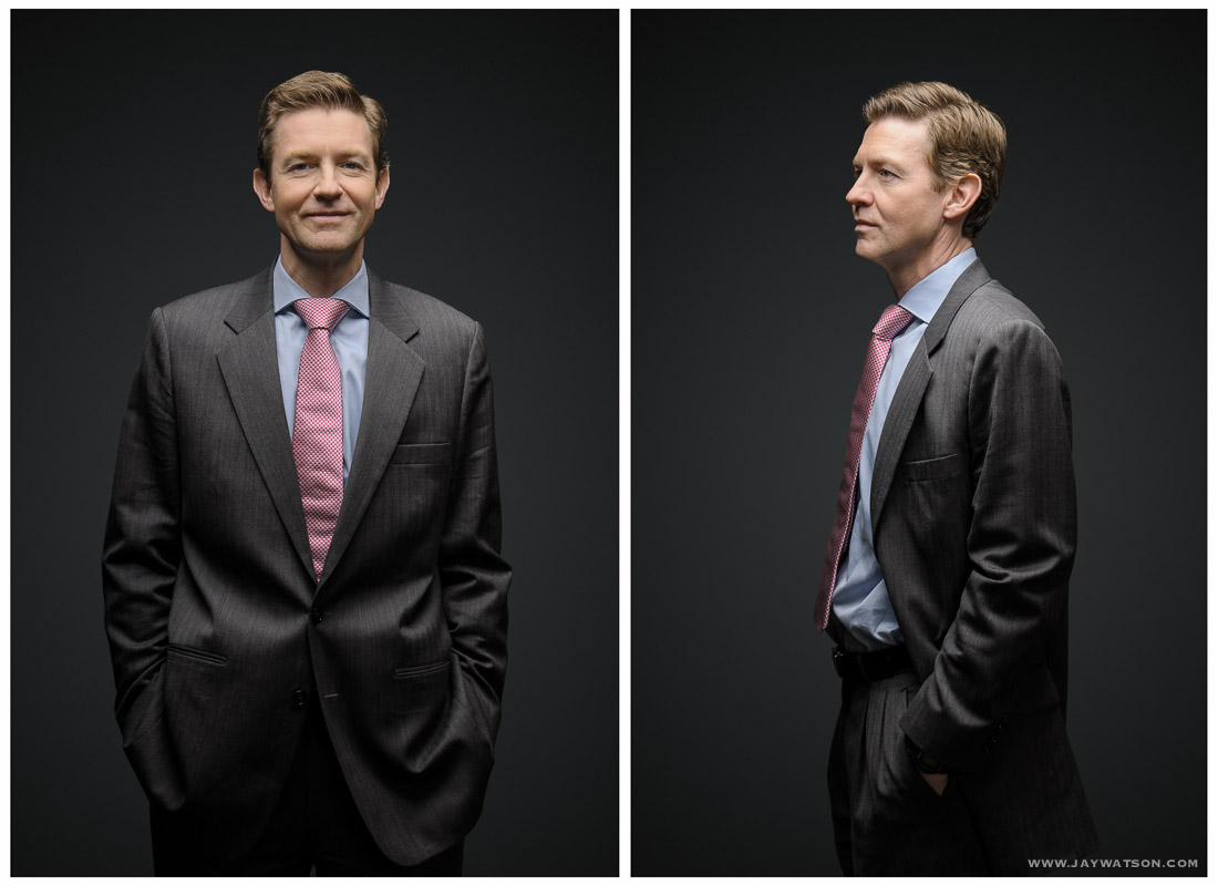 Editorial portrait for NY investment magazine