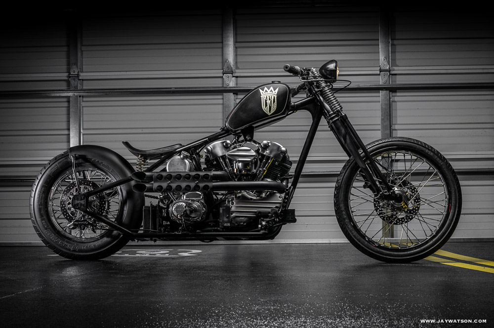 James Hetfield's CFL chopper