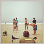 BTS lifestyle video shoot