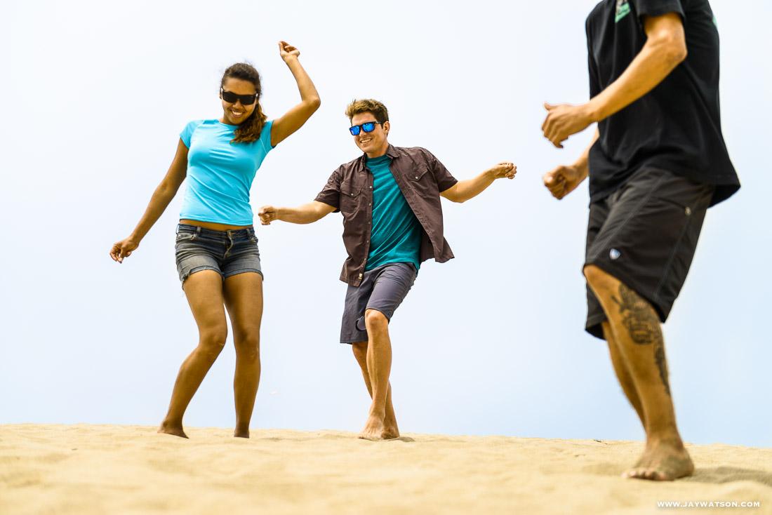 dancing scene - Eton lifestyle product photography shoot