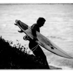 surfer at Waddell Creek
