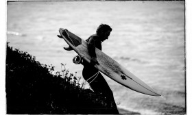 Surfing Waddell Creek, CA