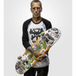 skateboarder Mark Partain portrait