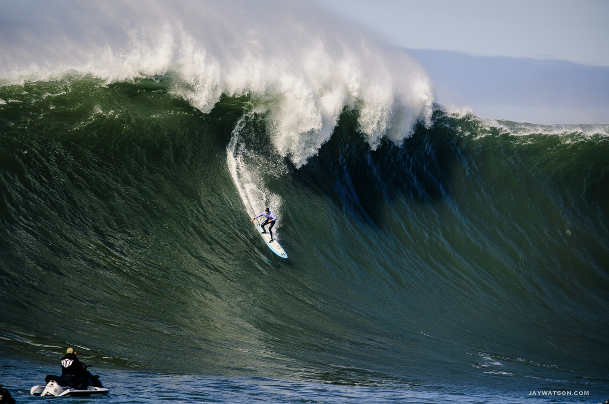 "surfer Grant ""Twiggy"" Baker, Mavericks Half Moon Bay"
