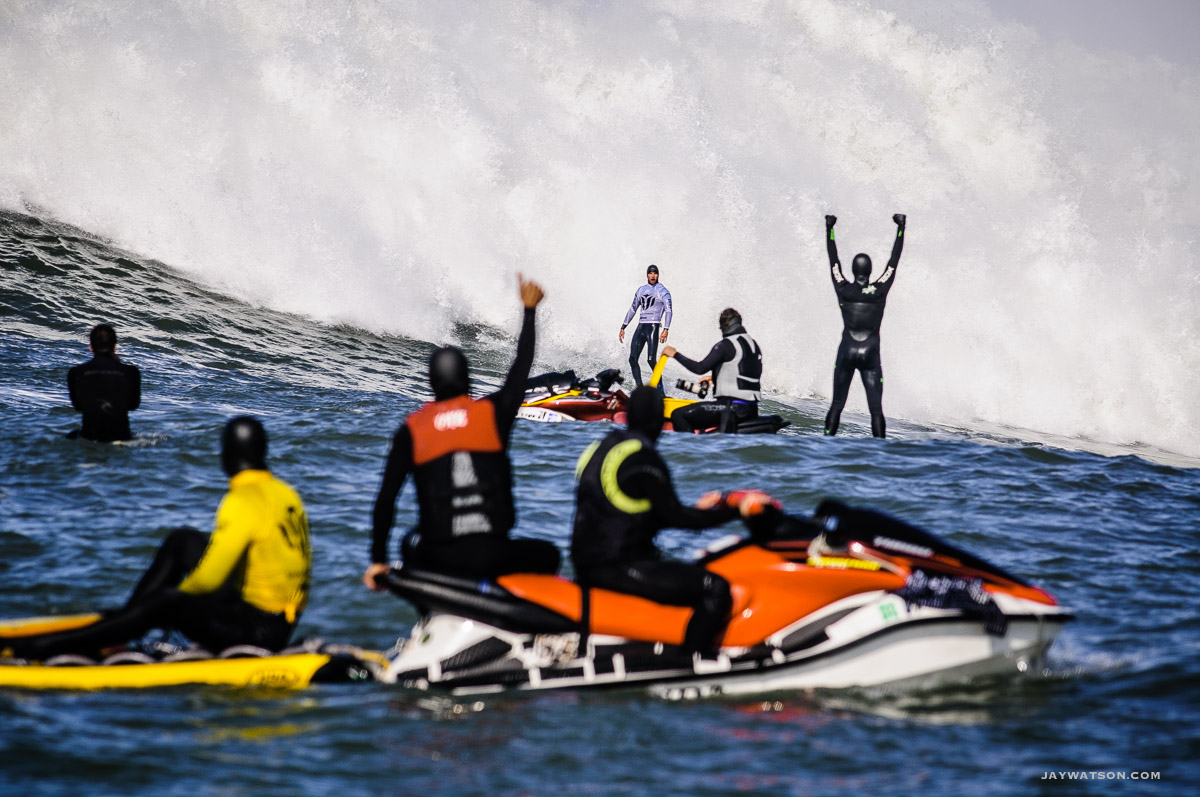 Outtakes: Grant Twiggy Baker Surfing Mavericks
