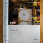 SoundFreaq product photography ad in Dwell Magazine