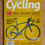 Canadian Cycling Magazine (cover Joel Esposito)