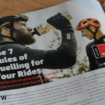 editorial tearsheet on cycling in Palo Alto, CA
