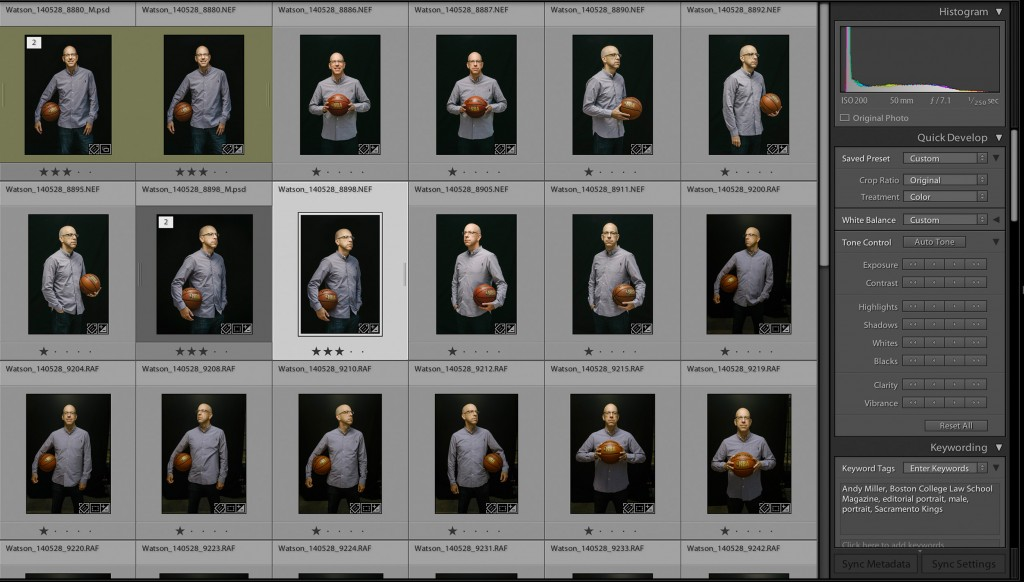 Lightroom grid view: Andy Miller, Co-Owner Sacramento Kings | Boston College Law School Magazine
