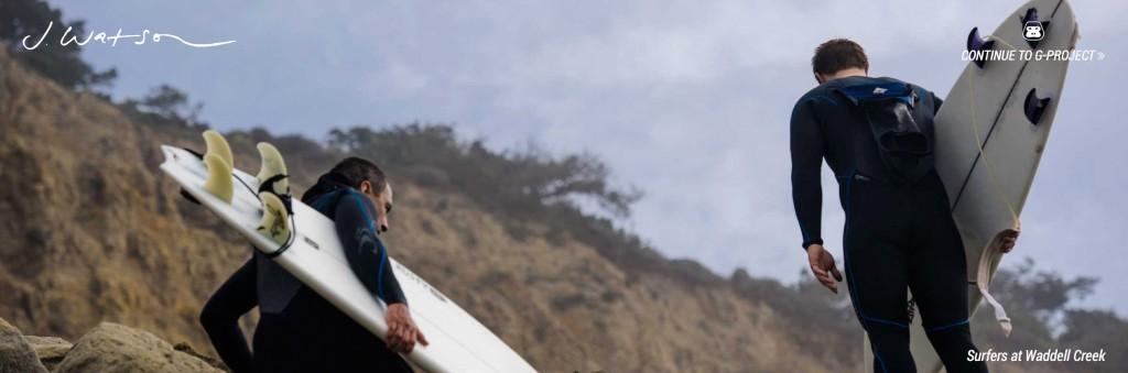Surfing lifestyle series on the California coast