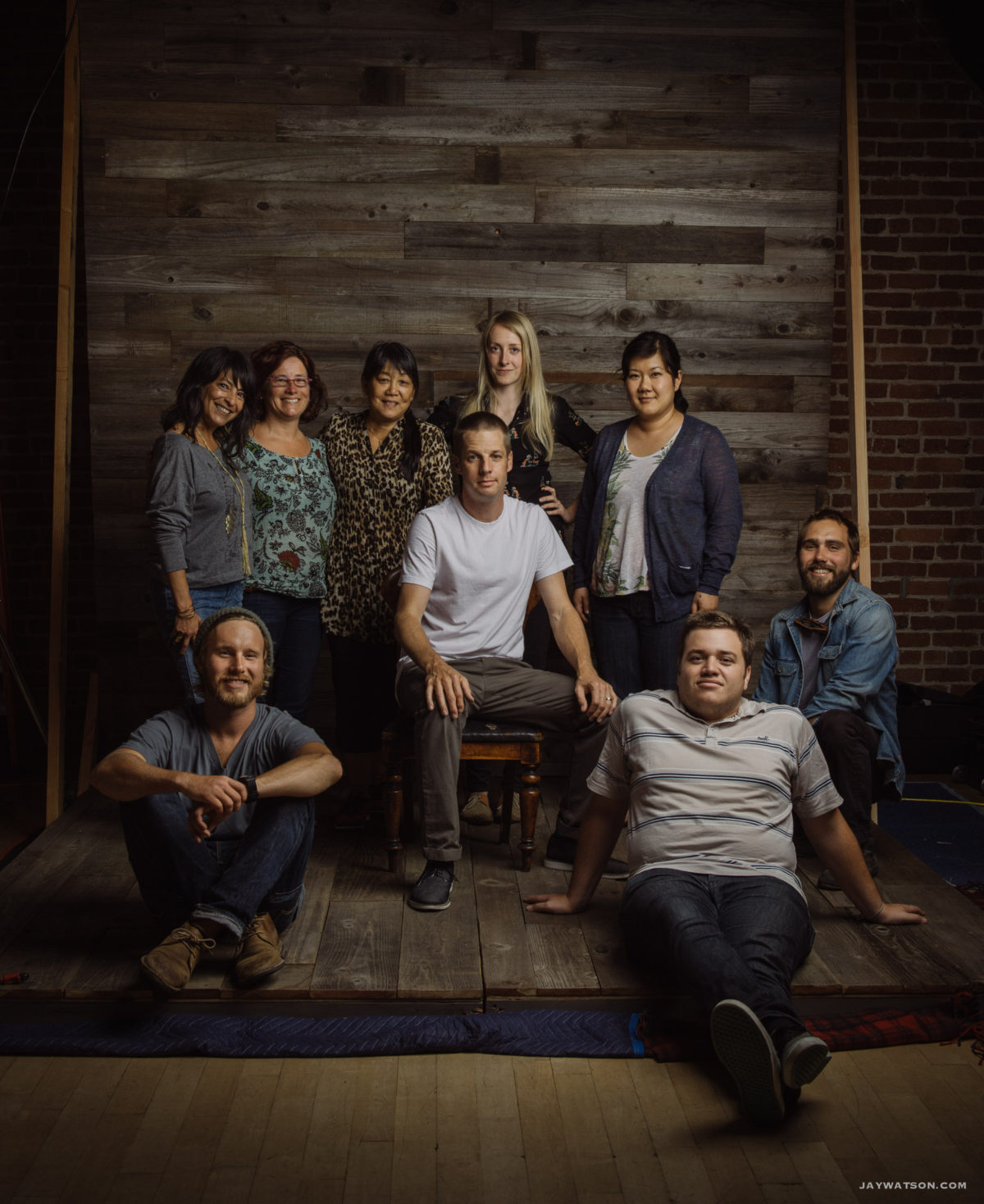 group photo of crew