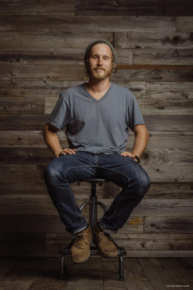 Mike Forrer, portrait