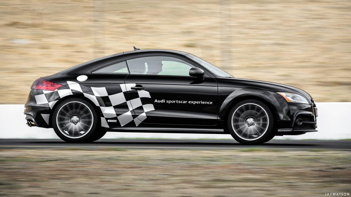 Audi sportscar experience at Sonoma Raceway + Laguna Seca