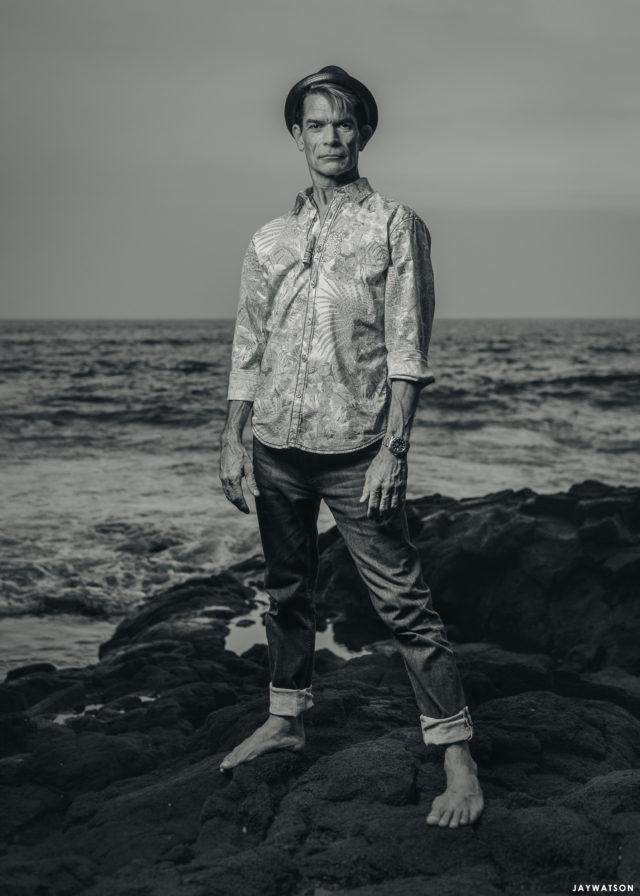 Tiki artist Brad Parker. Kona, HI
