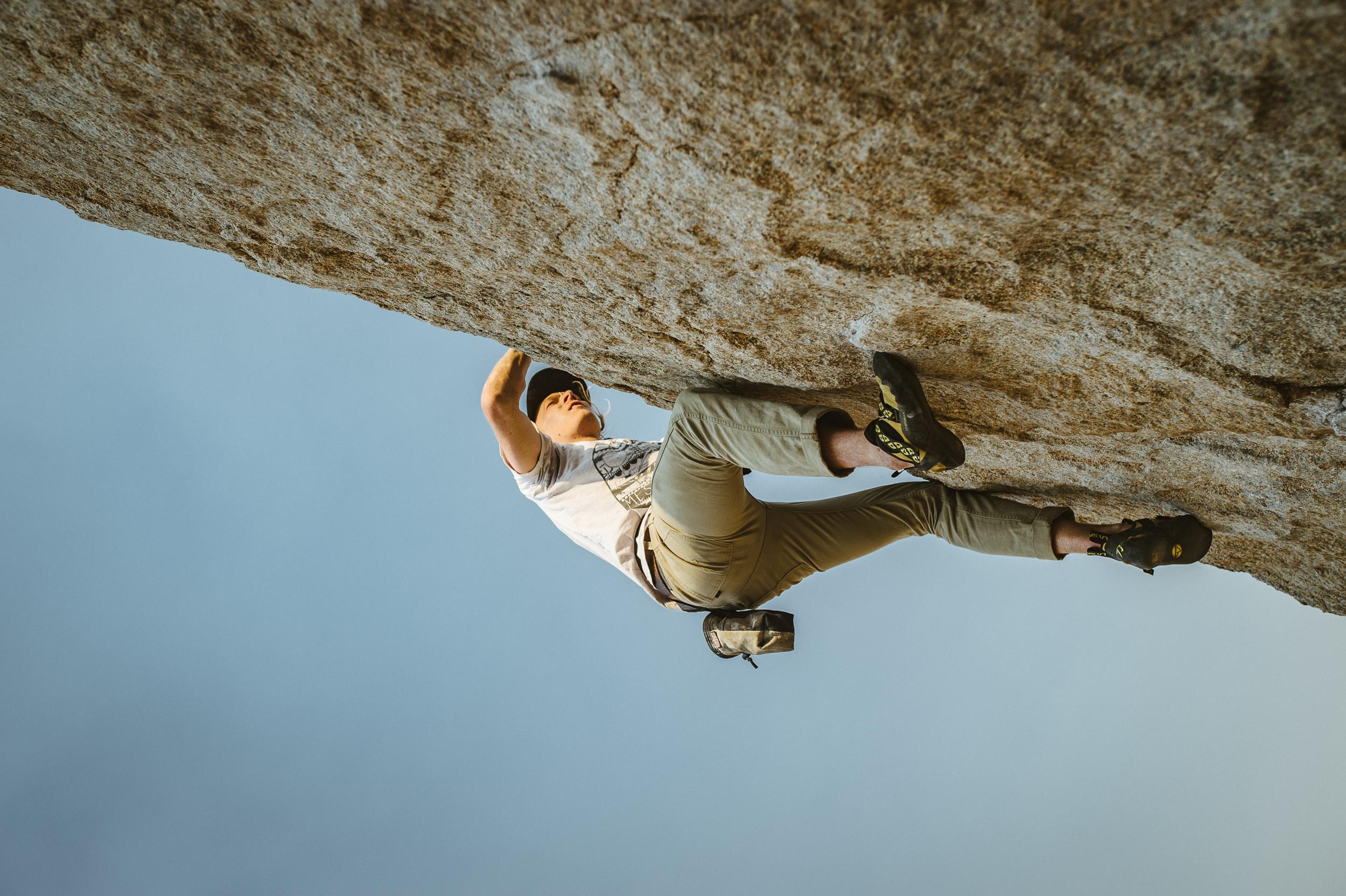 Rock climbing at Mammoth Lakes | G-Project Gear