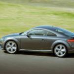 Audi TTS in turn 1, Sonoma Raceway
