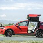 Tesla Modl X, Fremont, CA