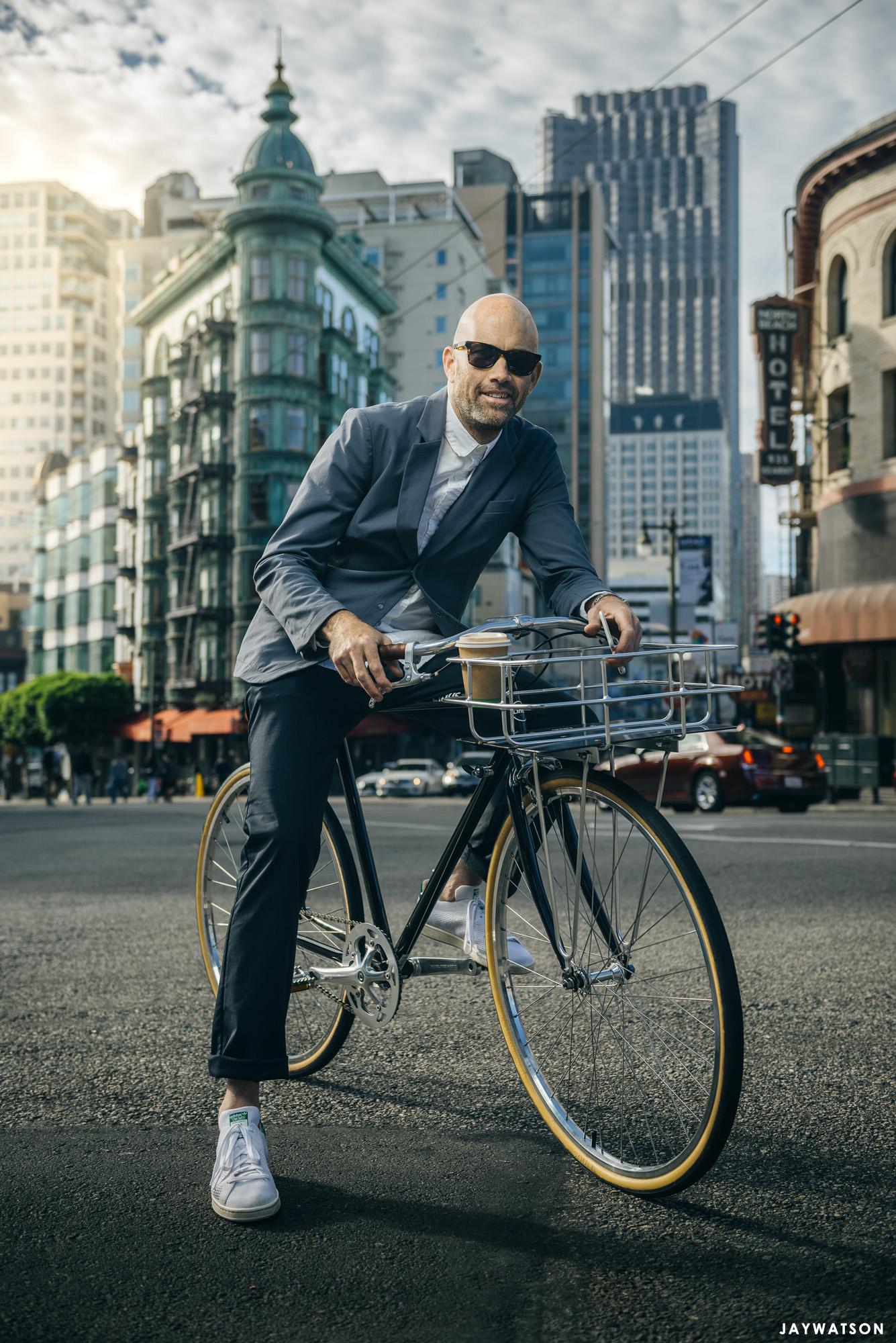 Portrait of Vaughn Brown in San Francisco, CA