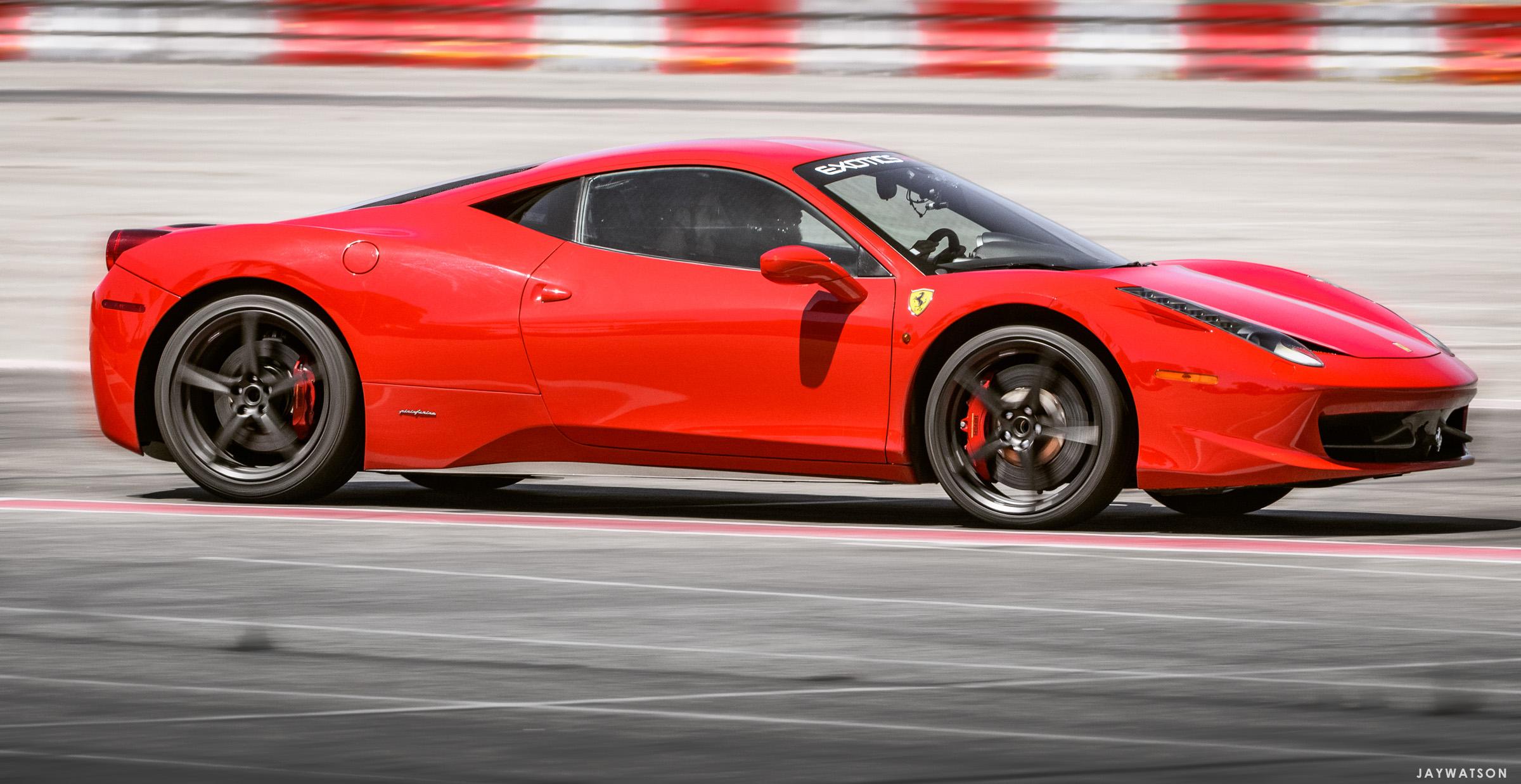Ferrari Los Angeles Auto Club Speedway