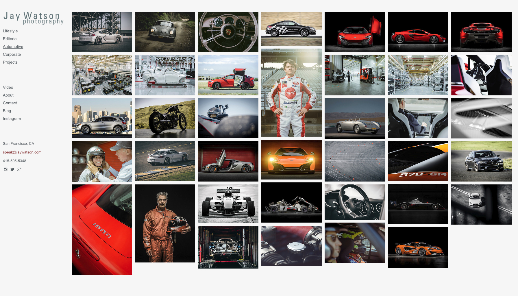 Portfolio | Motorsports and Automotive Photography